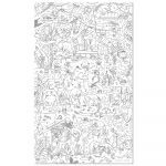 Giant Colouring Picture Jungle