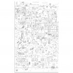 Giant Colouring Picture City