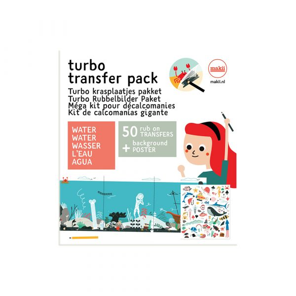 turbo transfer pack water