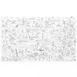 Giant Colouring Picture Water